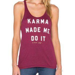 Spiritual Gangster Karma Made Me Do It Tank Top